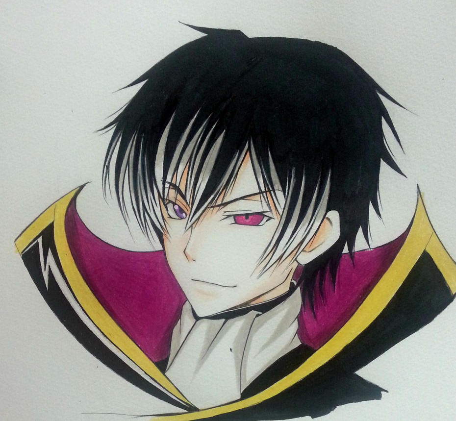 Lelouch Vi Brittania/ Lelouch Lamperouge by thumbelin0811