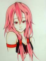 Inori Yuzuriha Guilty Crown by thumbelin0811