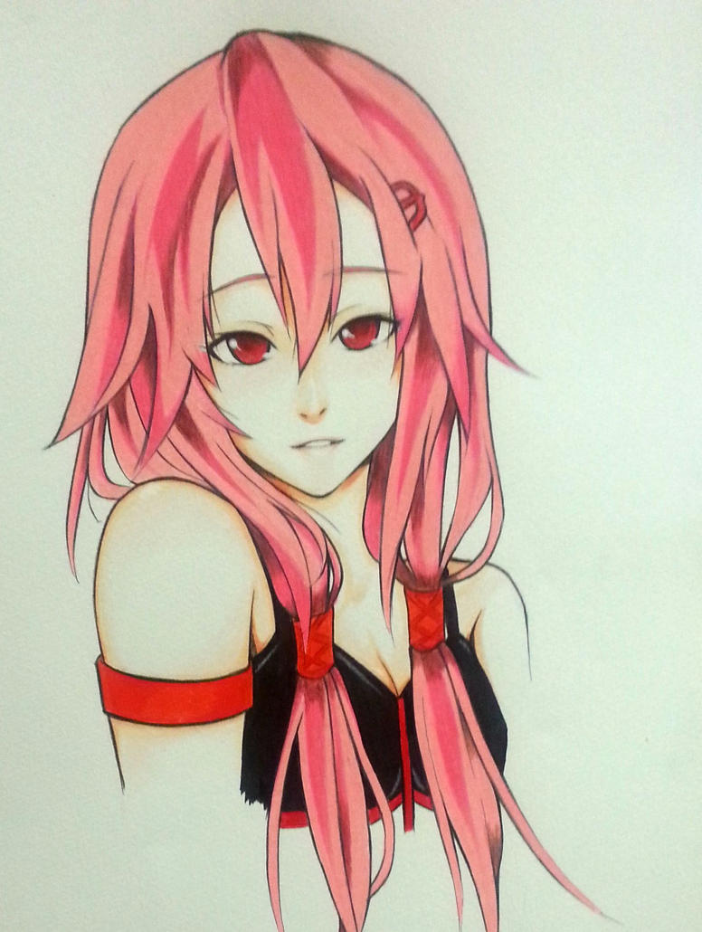 Inori Yuzuriha Guilty Crown by thumbelin0811
