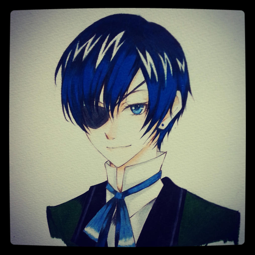 Ciel Phantomhive by thumbelin0811