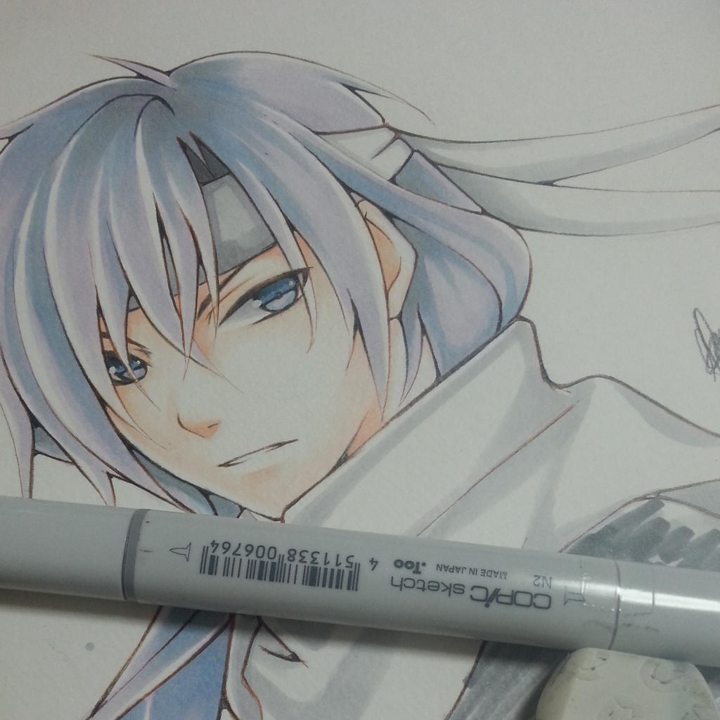 Saitou Hajime- Hakuoki Shinsengumi Kitan by thumbelin0811