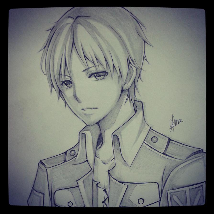 Eren Jaeger- Shingeki no Kyojin by thumbelin0811