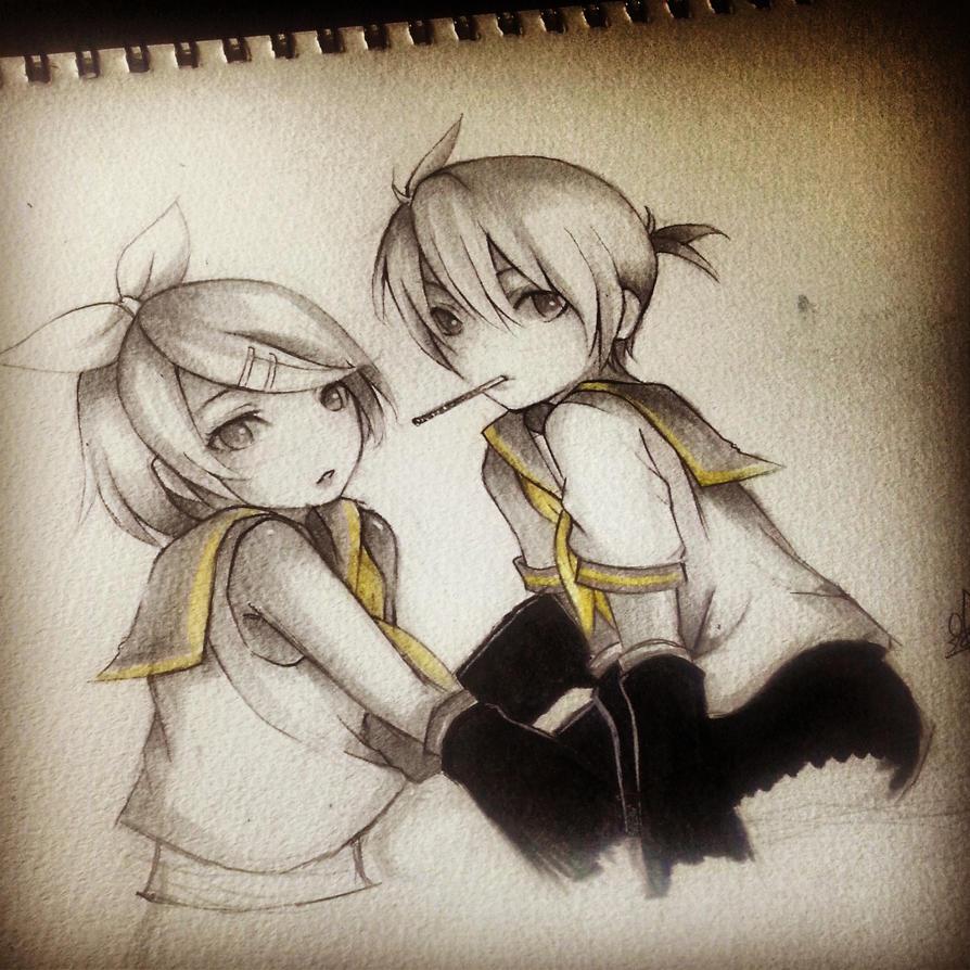 Len n Rin by thumbelin0811
