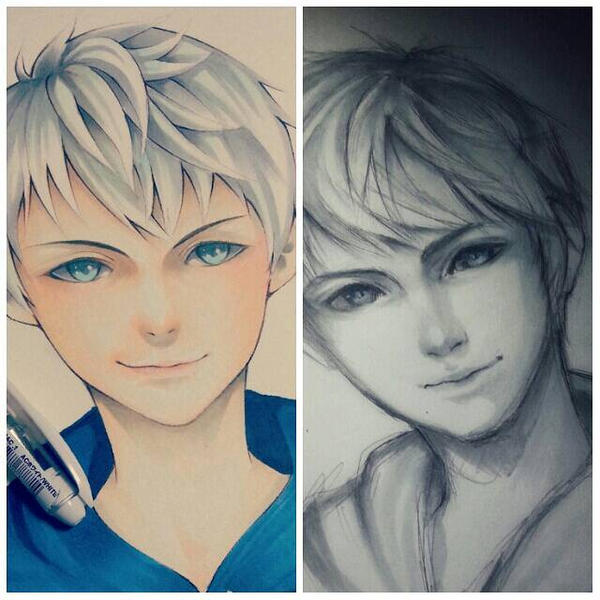past  present jack frost  by thumbelin0811
