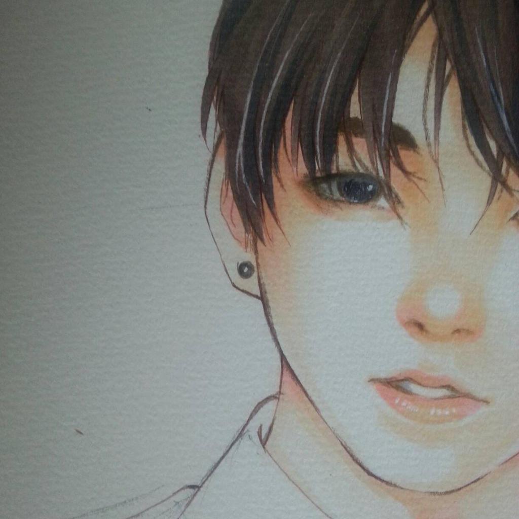 Jungkook Bts Drawings: Bts Jeon Jungkook By Thumbelin0811 On DeviantArt