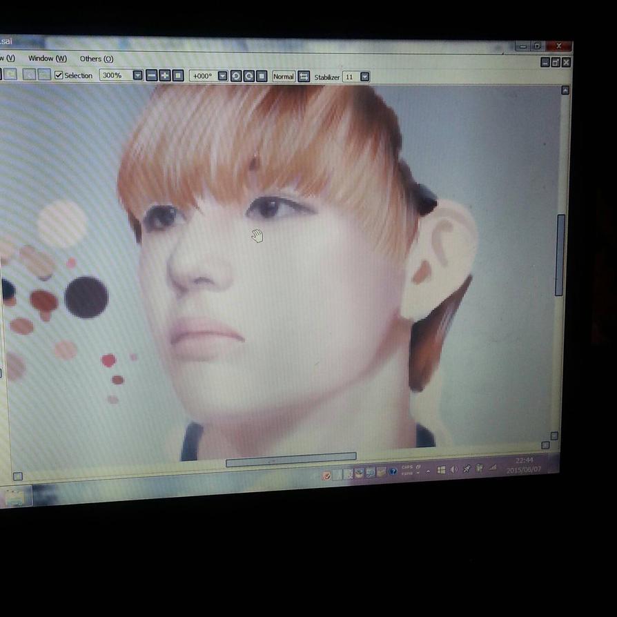 kim taehyung /v from bts by thumbelin0811