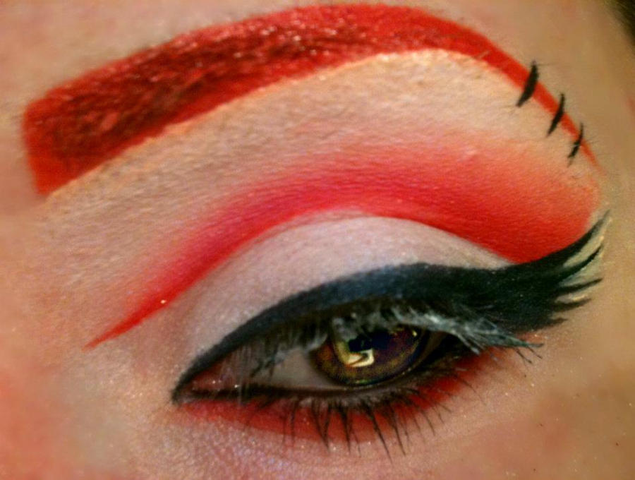 Red as Blood and White as Snow - Make up by TheEmanueleCastelli