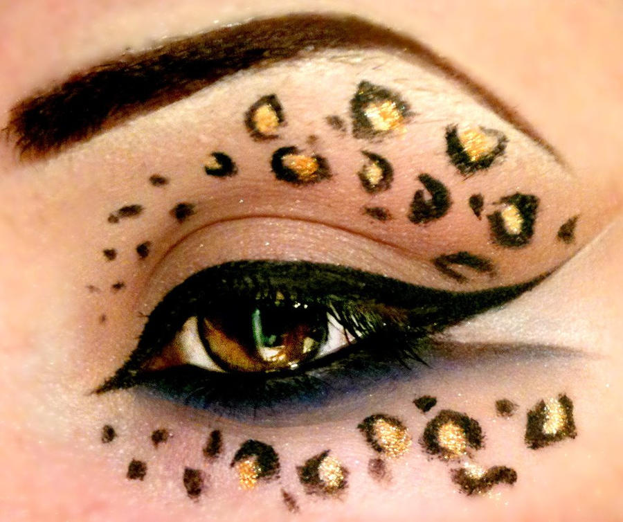 Leopard Print - Make up by TheEmanueleCastelli