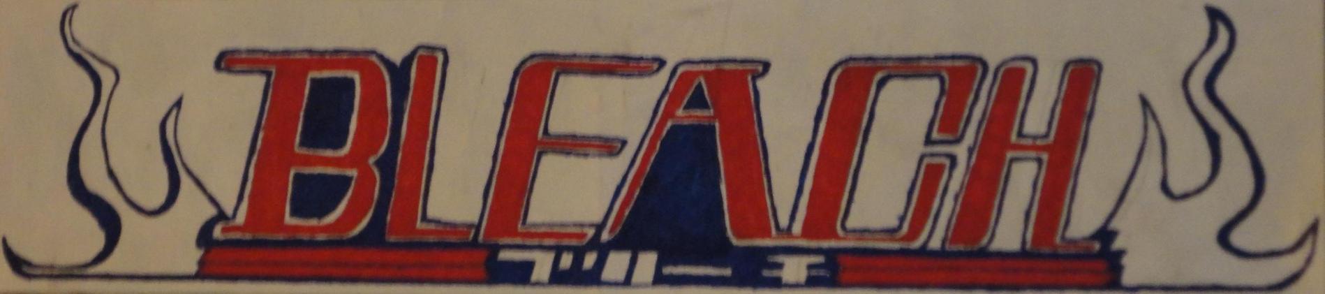 bleach logo by DEATHJRisunloveable
