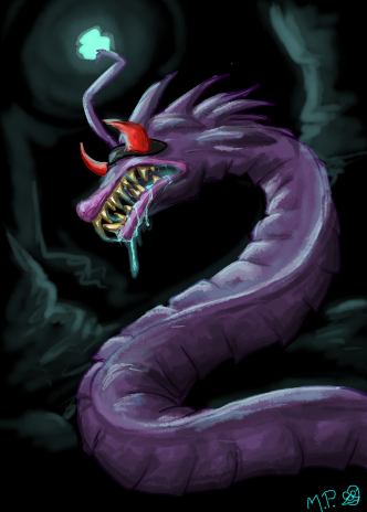 mack__the_depths_worm__ds_forums__by_mad