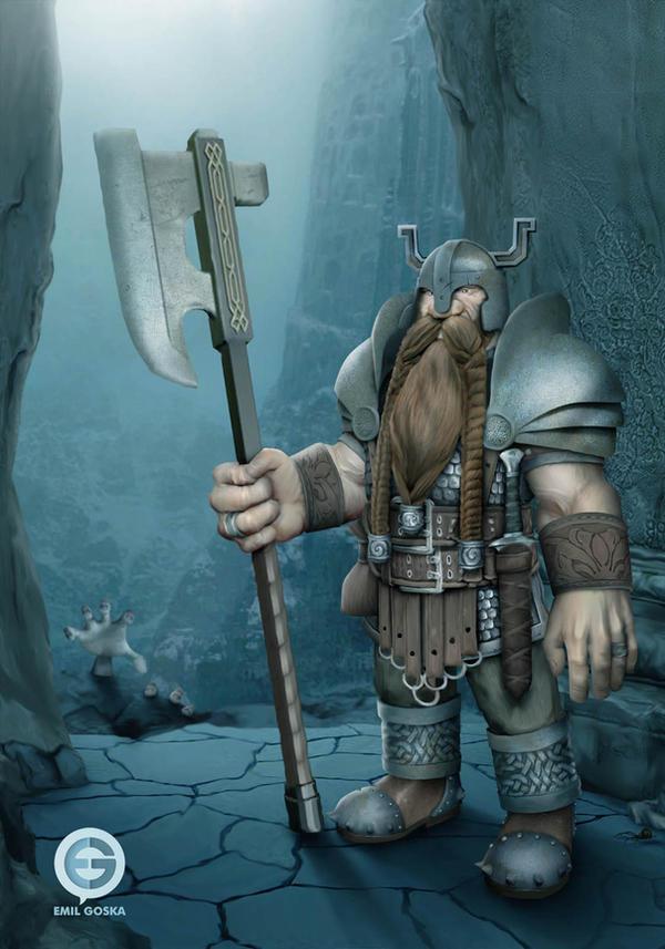 Guardian Dwarf by EmilGoska