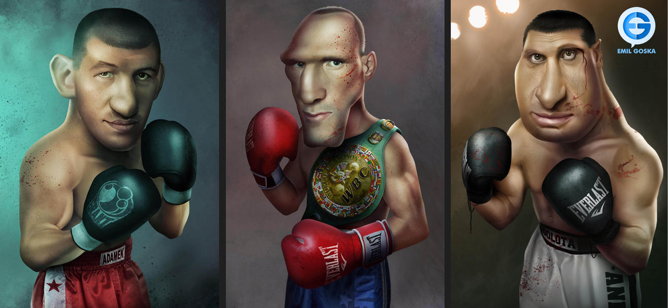 Boxers by EmilGoska