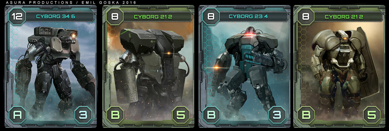 Age Of Ai - game cards by EmilGoska