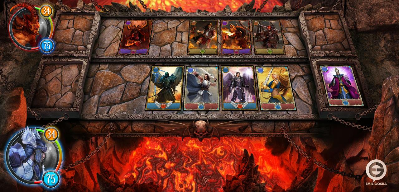 Heaven and Hell game board by EmilGoska