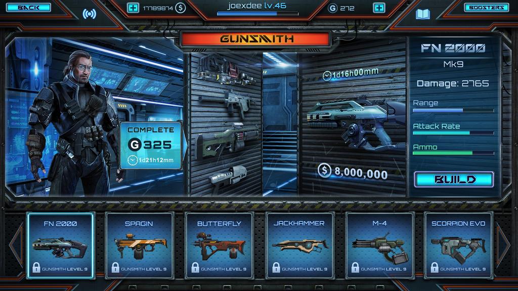Gunsmith screen by EmilGoska