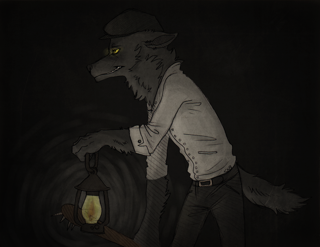 Lantern through the dark. by CremexButter