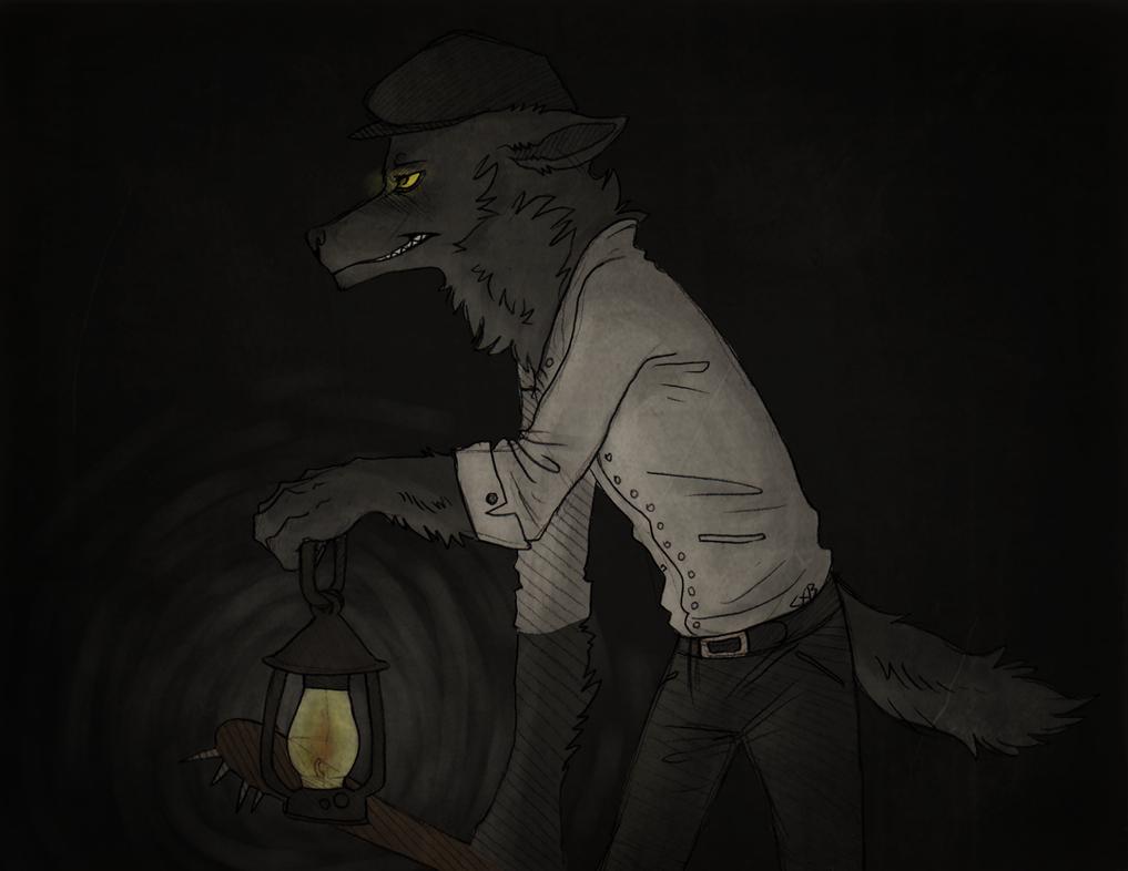 Lantern through the dark. by CremexButter