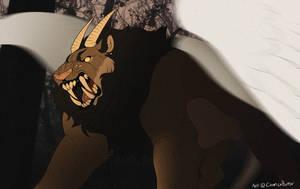 Lion roar by CremexButter