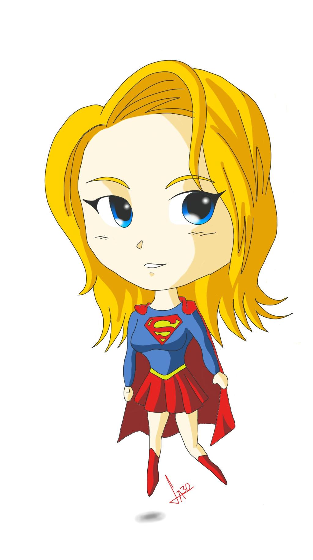 super girl chibi style by GABOND12 on DeviantArt