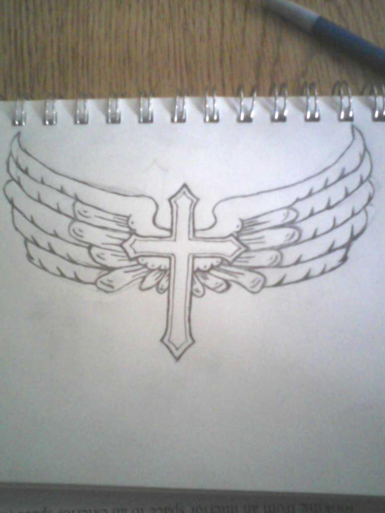 http://th00.deviantart.net/fs70/PRE/i/2012/116/5/b/pencil__winged_cross_tattoo_by_xxghentlemahnxx-d4xp4em.jpg Cross Tattoo Drawings In Pencil