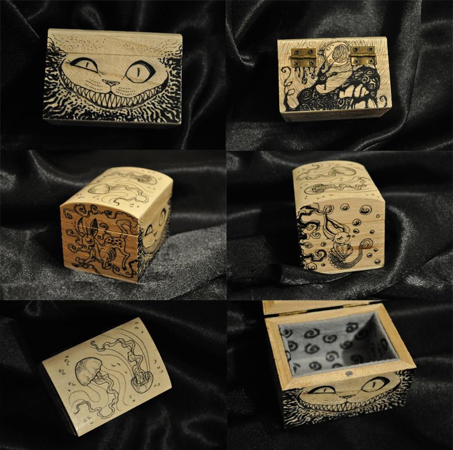 Cheshire box by ElaRaczyk