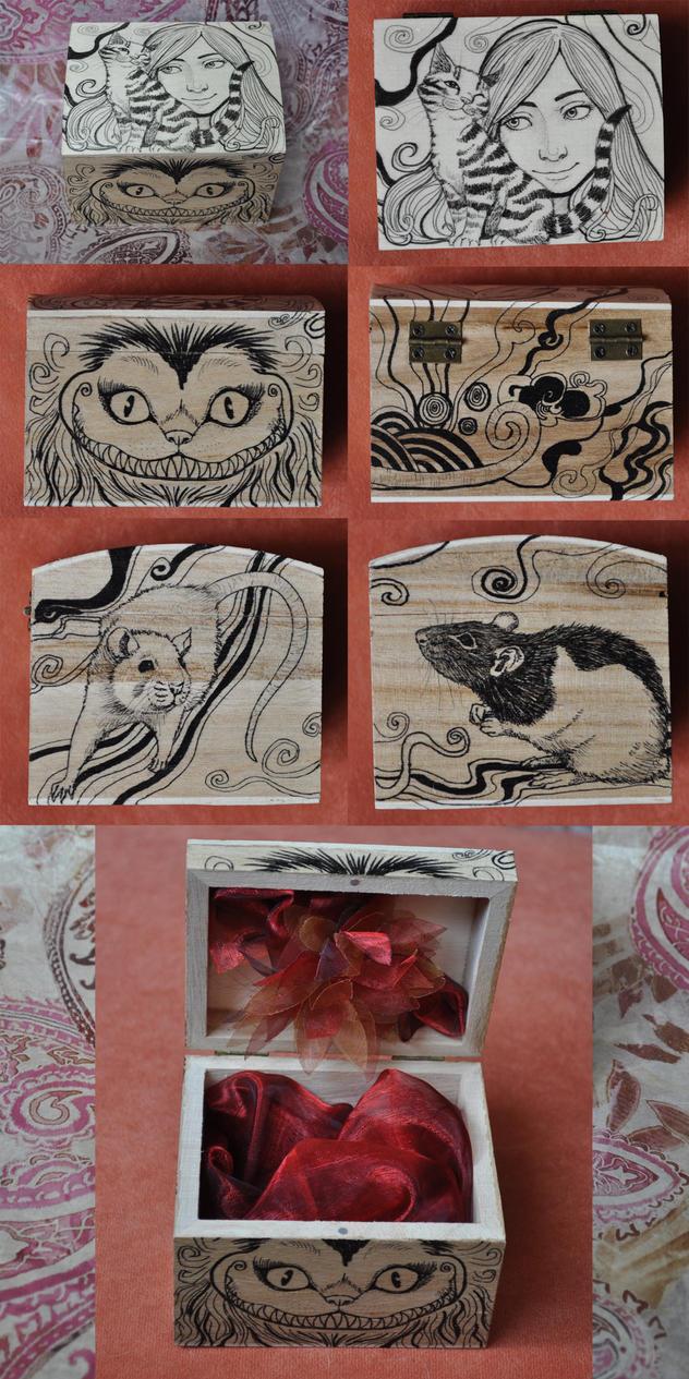 Catish-rat box by ElaRaczyk