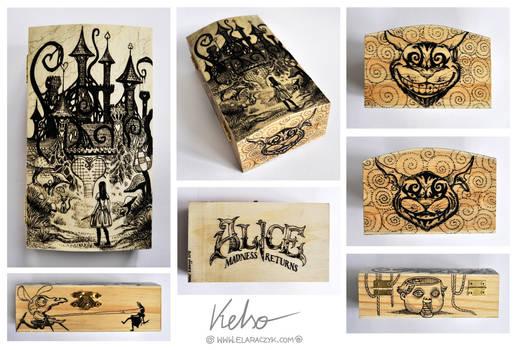 Alice Madness Returns woodenbox