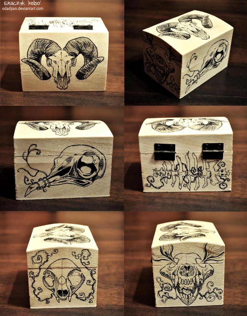 Animals skulls by ElaRaczyk
