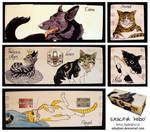 Ysyra Cats wooden box