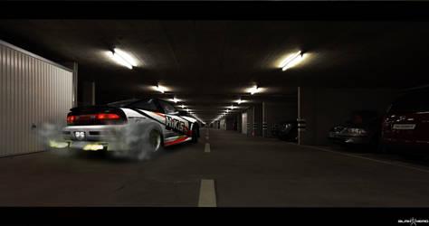 240SX- Tunnel by IIblahheadII