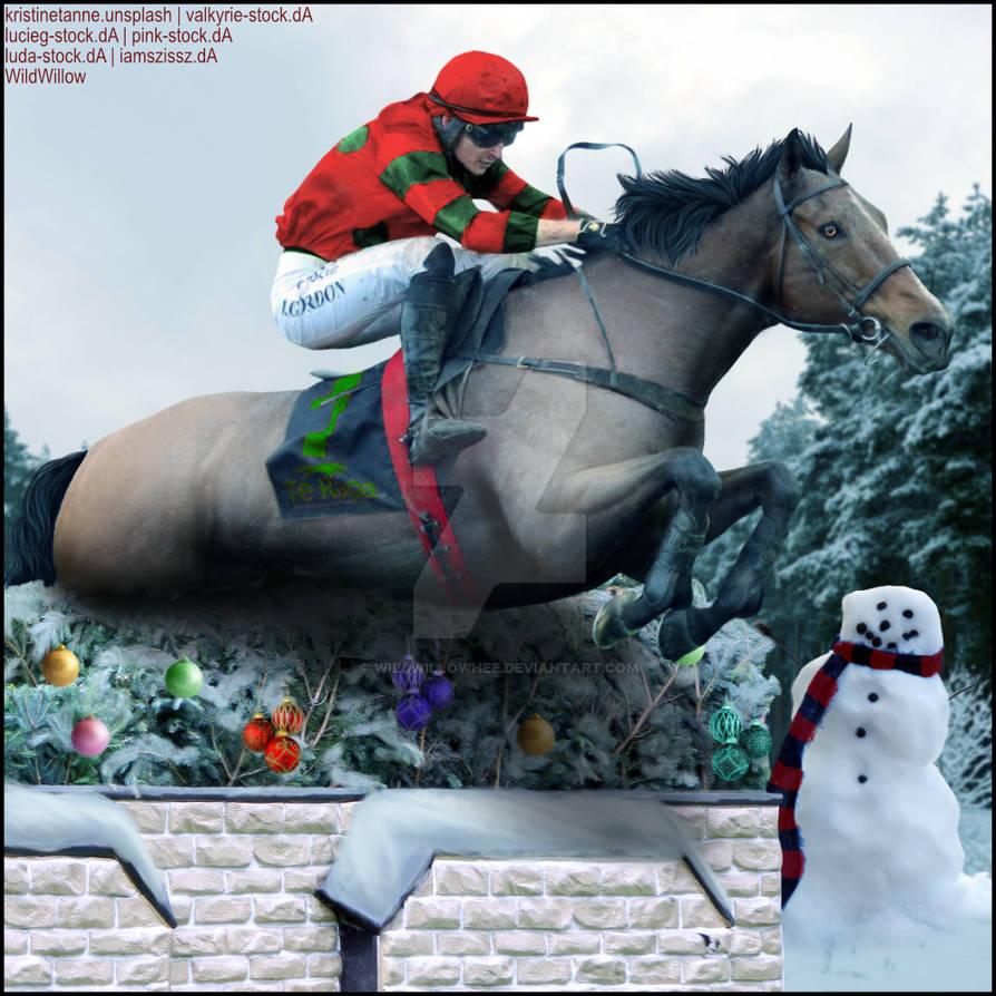HEE Horse Artwork - Aldaniti