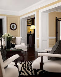 Classic Living Room by zodevdesign