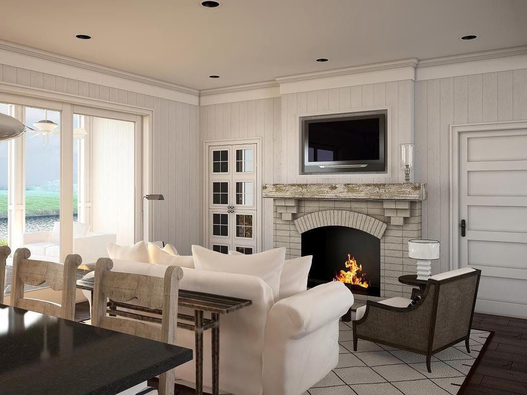 Scotch Hall Living Room by zodevdesign