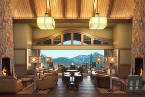 Living Room Rendering by zodevdesign