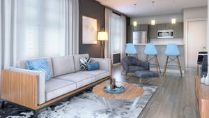 High Point Great Room Rendering.