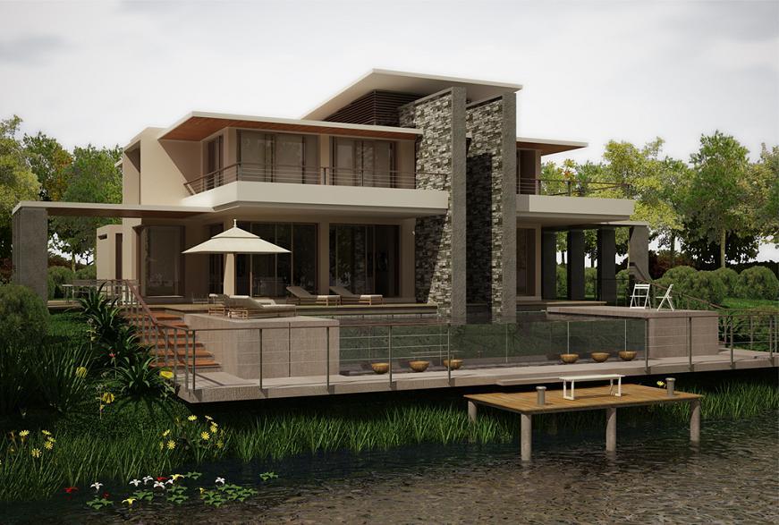 lake house by zodevdesign on deviantart
