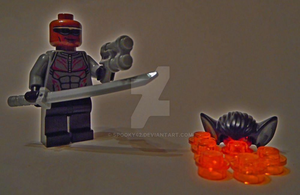 Blade vs Vampire (modern) by Spooky42