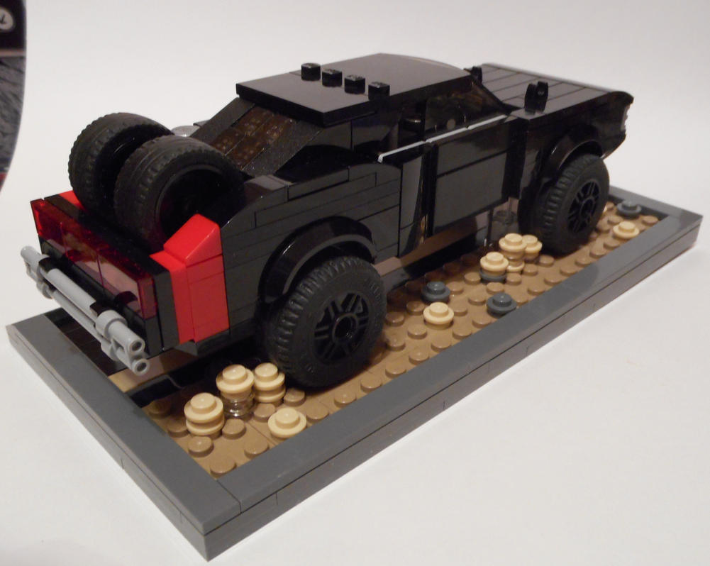 FF7 Dom's Off-road Charger backview by Spooky42