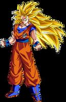 Goku Ssj 3 -  Dragon Ball Super by esteban-93
