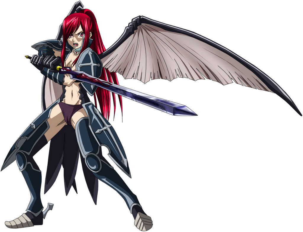 erza scarlet kureha no yoroi by esteban93 on deviantart