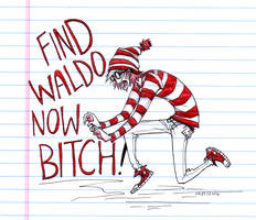 Wallisaur Killed Waldo by HJeojeo