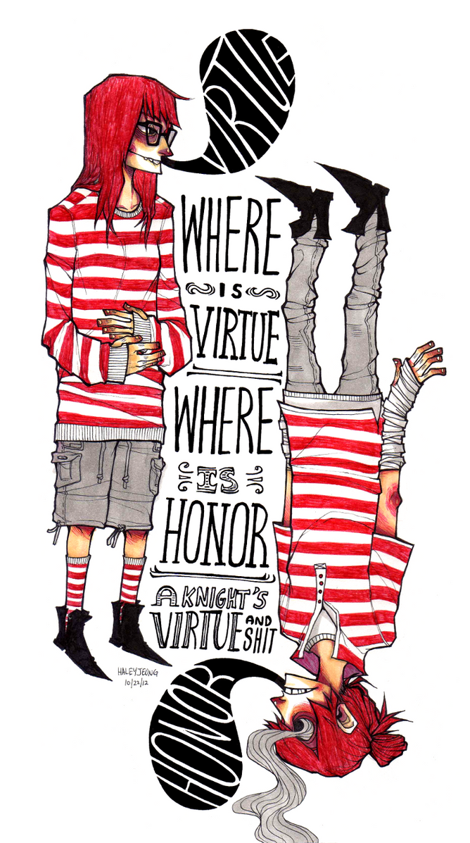Where is Virtue? by HJeojeo