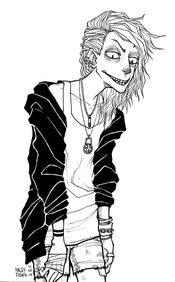 creepy emily by HJeojeo