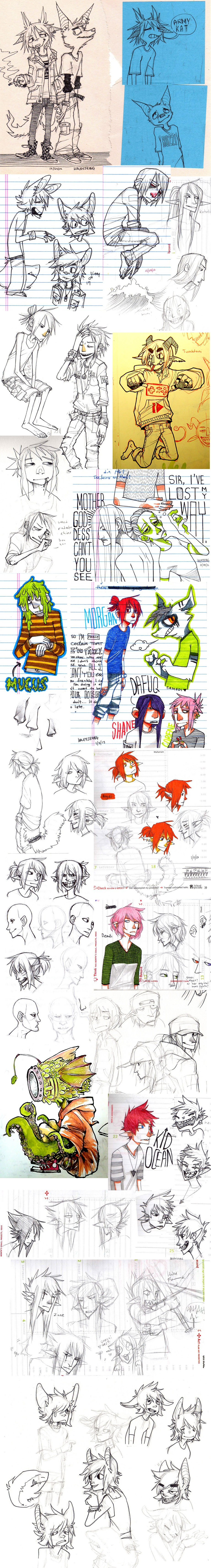 doodle dump 09 by HJeojeo
