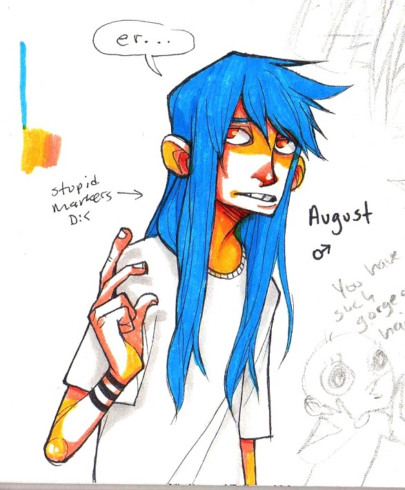 heyy August by HJeojeo