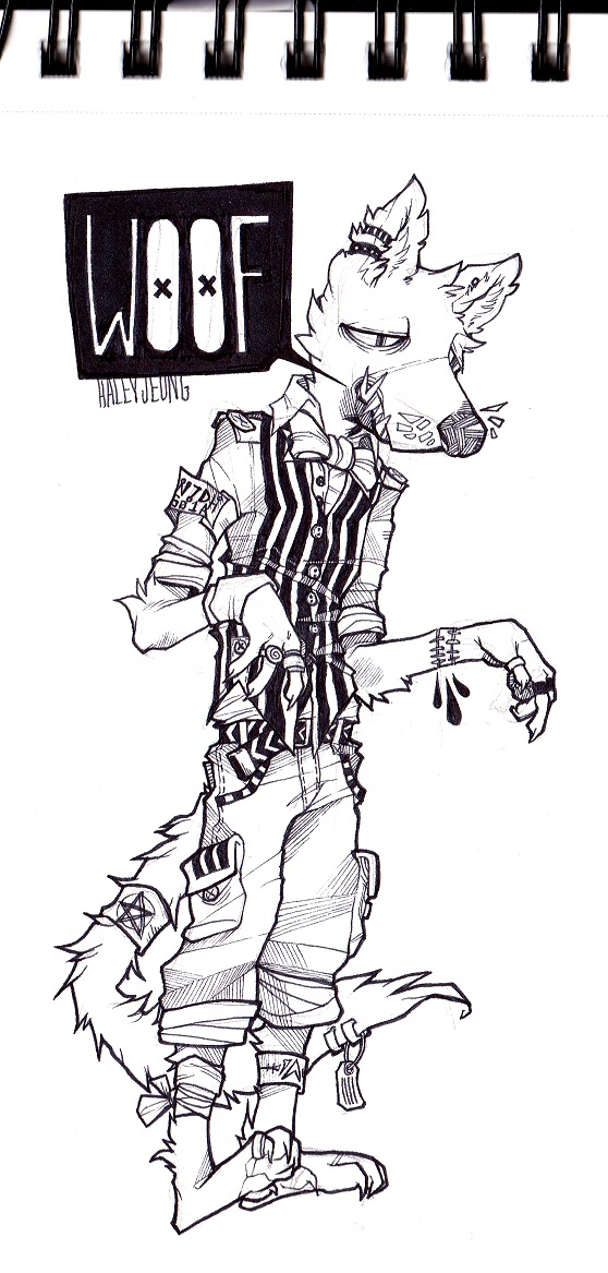 Woofus by HJeojeo