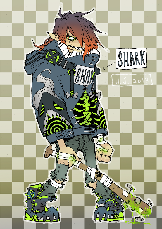 Toxic Shark Design Closed By Hjeojeo On Deviantart