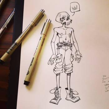 little skull man by HJeojeo
