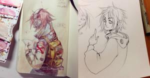 Grungy Watercolors