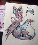 Noivern watercolors